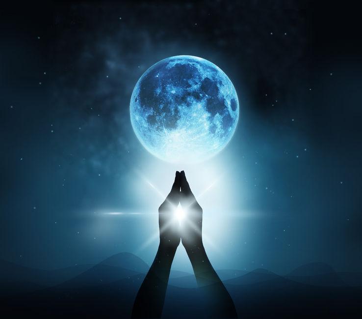 Blauwe Boeddha