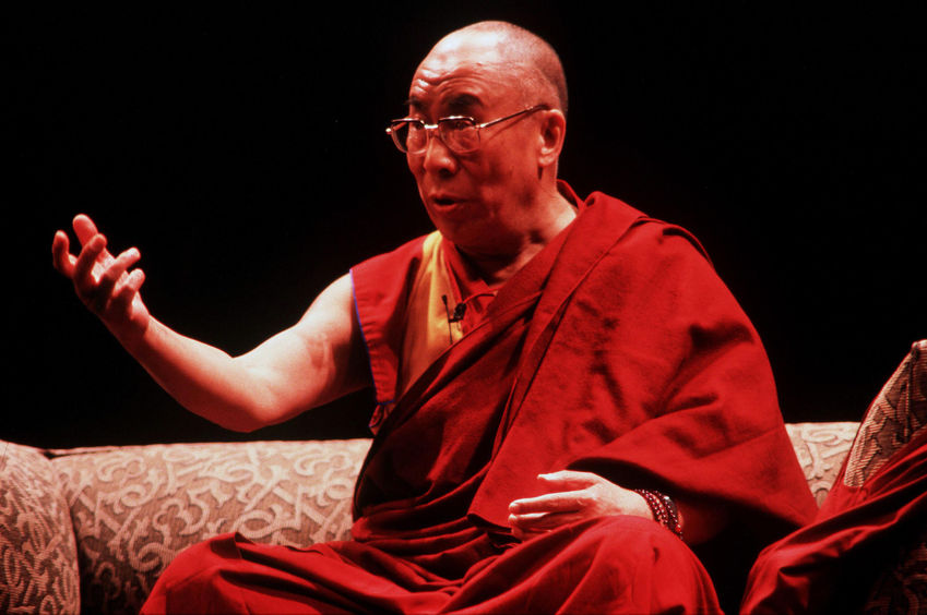 Hoe vindt je een Dalai Lama.