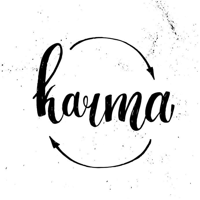 karma als een spiegel voor jezelf