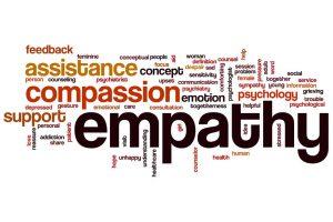 Empathie versus impathie.